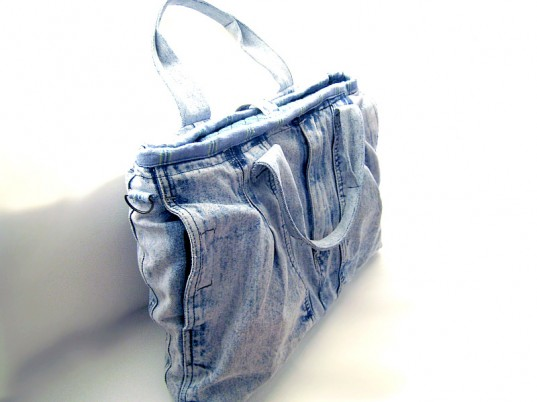 recycled denim, recycled jeans, upcycled denim, upcycled jeans, Ecouterre Recycled Denim Challenge, Gap, eco-friendly bags, green bags, sustainable bags, upcycled bags, recycled bags, eco-fashion, sustainable fashion, green fashion, sustainable style, ethical fashion