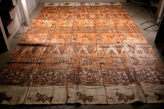 Paper Like Cloth Made In South Pacific Islands