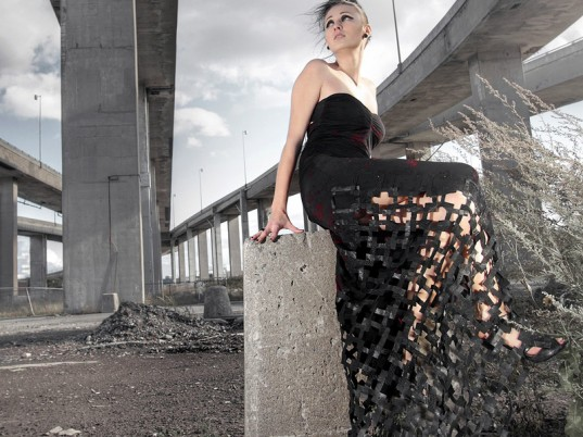 Myriam Benoit, recycled leather, upcycled leather, recycled fashion, upcycled fashion, recycled clothing, upcycled clothing, eco-fashion, sustainable fashion, green fashion, ethical fashion, sustainable style, Montreal, Canada