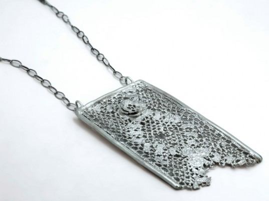 A. J. White, Amanda White, recycled gold, recycled silver, vintage lace, upcycled jewelry, recycled jewelry, eco-friendly jewelry, sustainable jewelry, eco-fashion, sustainable fashion, ethical fashion, green fashion, sustainable style