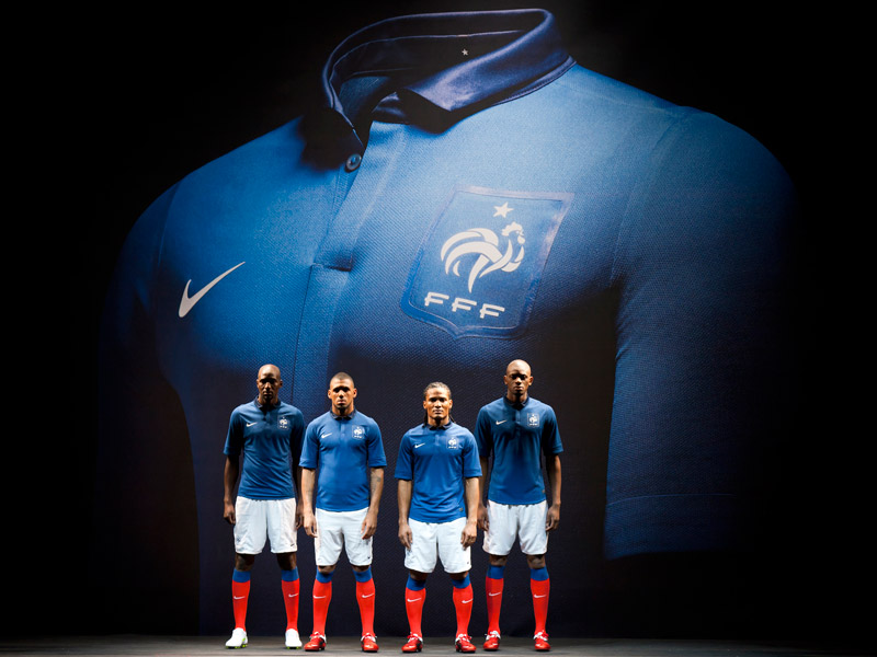dccd8f40c Nike s French Football Kit is Derived Entirely From Recycled Plastic ...