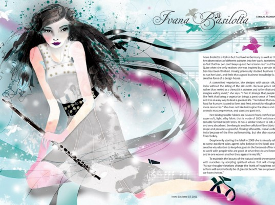 Ivana Basilotta, Amelia's Magazine, eco-fashion, sustainable fashion, green fashion, ethical fashion, sustainable style