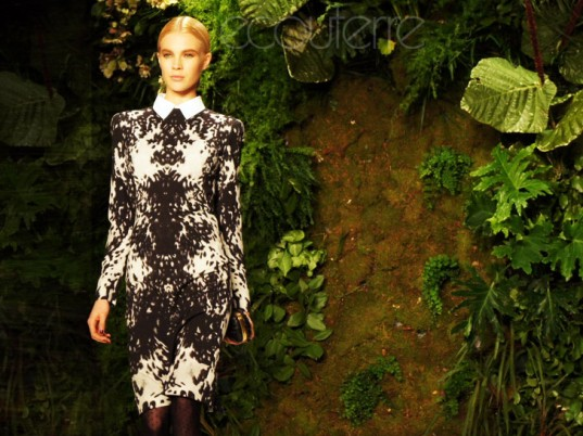 Runway to Green, A Bid to Save the Earth, eco-fashion, sustainable fashion, green fashion, ethical fashion, sustainable style, Vogue, Alexander McQueen