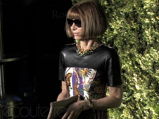 Runway to Green, A Bid to Save the Earth, eco-fashion, sustainable fashion, green fashion, ethical fashion, sustainable style, Vogue, Anna Wintour