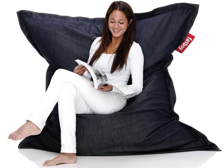 Amazing Recycle Your Jeans With Fatboy, Take 25% Off Its Organic Denim Beanbag |  Ecouterre