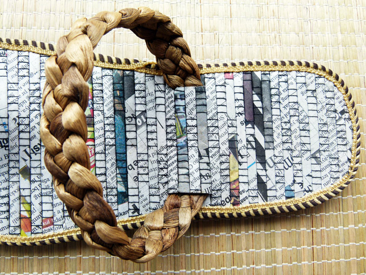 0edd279f2a85f Recycled Newspaper Flip-Flops Create Sustainable Jobs in Indonesia ...