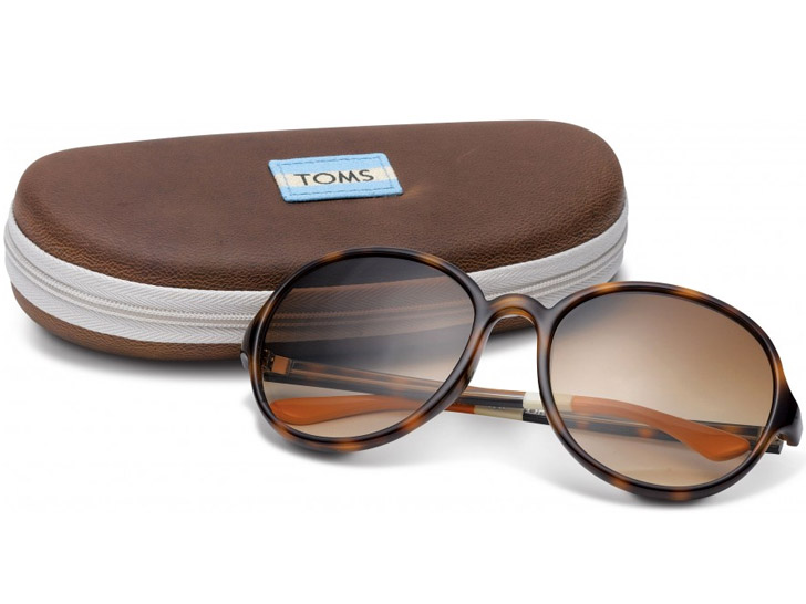 "TOMS Unveils New ""One for One"" Eyewear Collection 