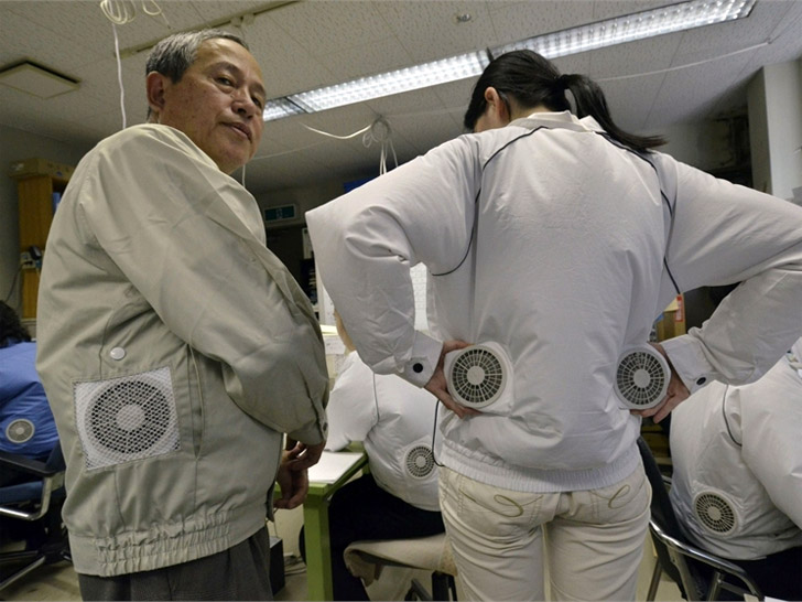 Air Conditioned Clothing Helps Japan Beat The Heat Amid Power
