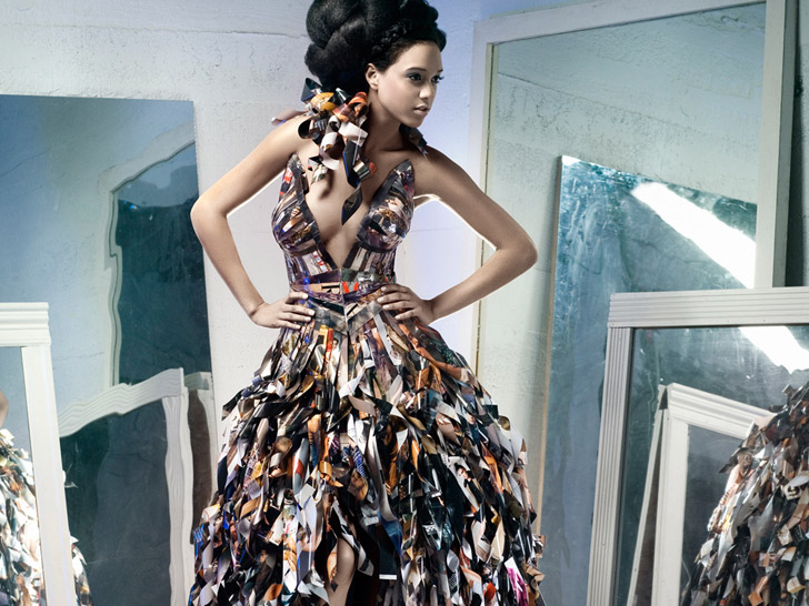 Papier Couture\'s Lia Griffith Makes Stunning Gowns From Recycled ...
