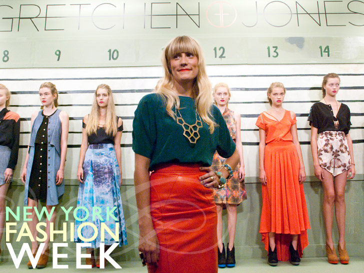 Gretchen Jones is Guilty as Charged at New York Fashion Week Spring 2012