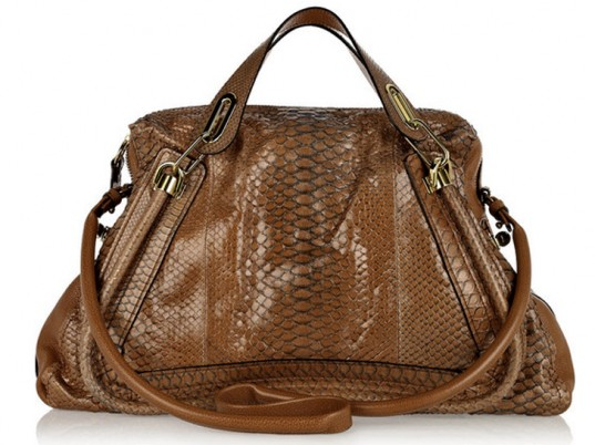 Reese Witherspoon, Chloe, python skin, snakeskin, animal cruelty, PETA, eco-friendly bags, sustainable bags, eco-fashion, sustainable fashion, green fashion, ethical fashion, sustainable style