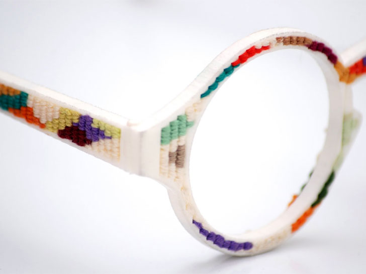 3D-Printed Tapestry Glasses | Ecouterre