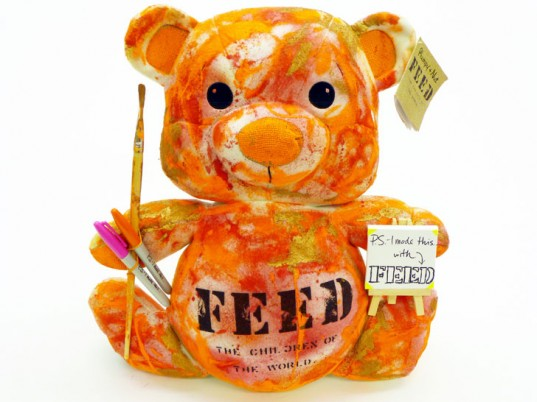 FEED, Teddy Share, fashion philanthropy, eco-fashion, sustainable fashion, green fashion, ethical fashion, sustainable style, Lauren Bush, Sharon Bush, Charitybuzz