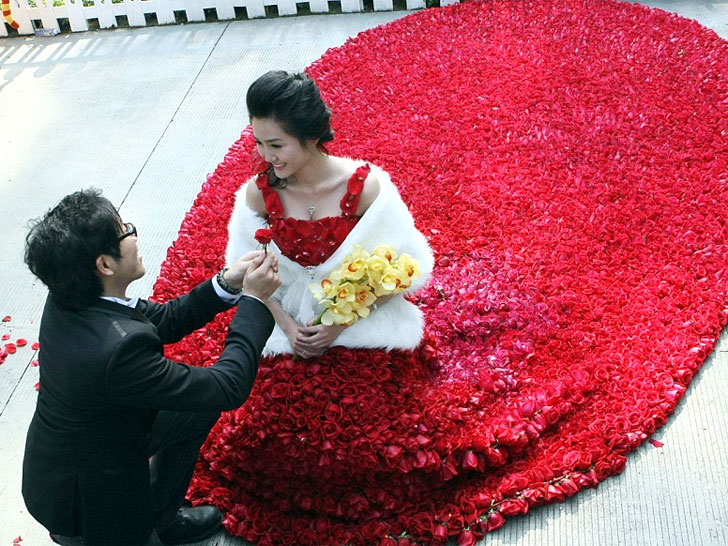 9999 Rose Gown