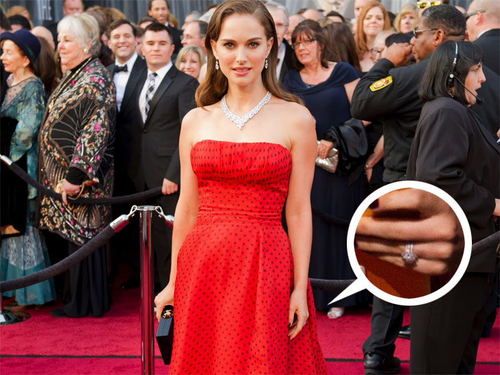 Natalie Portman Benjamin Millepied Sport EcoFriendly Wedding Rings