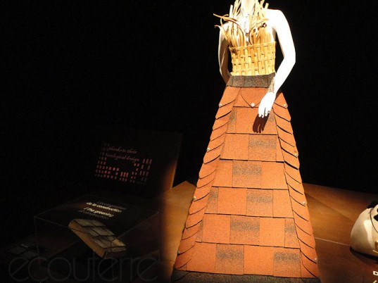 .N.E. Outfits from a New Era, Montreal Biosphere, Marie Line, Chlose B. Fortin, Paco Rabanne, Maude Lapierre, Melissa Turgeon, Jennifer Bergeron, eco-fashion, sustainable fashion, green fashion, ethical fashion, sustainable style, recycled fashion, upcycled fashion, recycled clothing, upcycled clothing