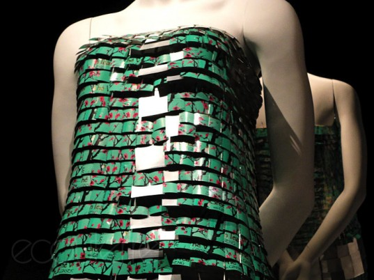 O.N.E. Outfits from a New Era, Montreal Biosphere, Marie Line, Chlose B. Fortin, Paco Rabanne, Maude Lapierre, Melissa Turgeon, Jennifer Bergeron, eco-fashion, sustainable fashion, green fashion, ethical fashion, sustainable style, recycled fashion, upcycled fashion, recycled clothing, upcycled clothing