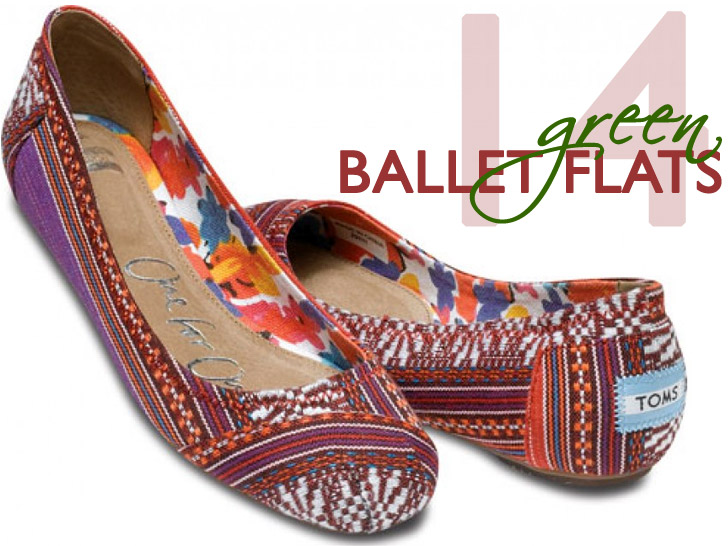 91a6a0085e81 14 Eco-Friendly Ballet Flats to Put a Spring In Your Step