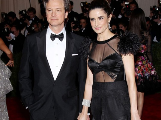 Colin Firth, Livia Firth, eco-fashion, sustainable fashion, green fashion, ethical fashion, sustainable style, Green Carpet Challenge, Met Costume Institute Gala, Met Ball, eco-celebrities, eco-celebs, green celebrities, Prada