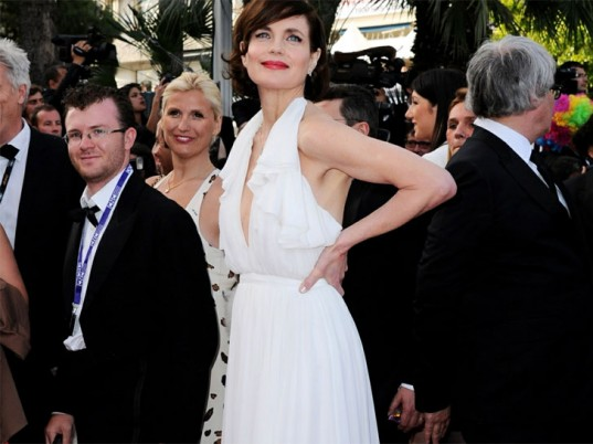 Elizabeth McGovern, Downton Abbey, Livia Firth, Green Carpet Challenge, Cannes Film Festival, Cannes, eco-fashion, sustainable fashion, green fashion, ethical fashion, sustainable style, eco-celebs, eco-celebrities, green celebrities
