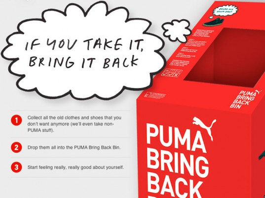 Puma, clothing take-back, clothing recycling, shoes recycling, eco-friendly sportswear, sustainable sportswear, eco-friendly sports, sustainable sports, green sports, eco-fashion, sustainable fashion, green fashion, ethical fashion, sustainable style, Germany