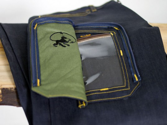 Alphyn Industries, San Francisco, wearable technology, cellphones, eco-friendly jeans, sustainable jeans, eco-friendly denim, sustainable denim, wearable technology, organic cotton, made in the U.S.A., eco-fashion, sustainable fashion, green fashion, ethical fashion, sustainable style