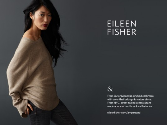 Eileen Fisher, eco-fashion, sustainable fashion, green fashion, ethical fashion, sustainable style, fair-trade fashion, fair-trade clothing, fair trade, advertising campaigns