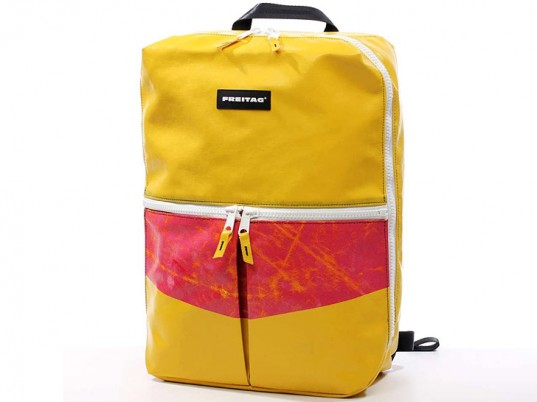 Freitag, eco-friendly backpacks, sustainable backpacks, eco-friendly bags, sustainable bags, back to school, green back to school, eco-fashion, sustainable fashion, green fashion, ethical fashion, sustainable style, vegan fashion, vegan bags, vegan style, made in the U.S.A.