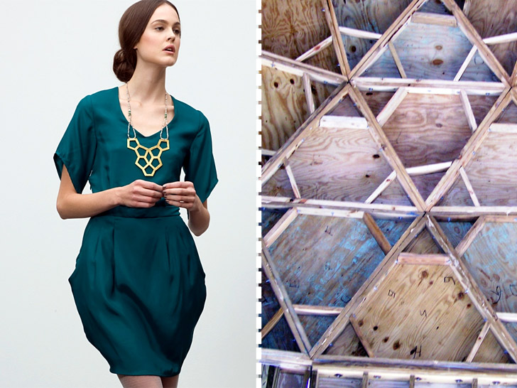 Fashion Inspired By Architecture Ecouterre