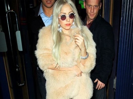 Lady Gaga, PETA, People for the Ethical Treatment of Animals, fur, animal fur, animal cruelty, animal welfare, animal rights, eco-friendly celebrities, eco-celebrities, green celebrities, eco-fashion, sustainable fashion, green fashion, ethical fashion, sustainable style