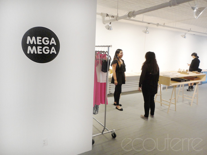Mega Mega Projects, Lauren Abend, Meghan Folsom, Walker Street, Dirty Librarian Chains, Erin Considine, Laura Lombardi, Sarah Perlis, Mociun, New York Fashion Week, FW2012, sustainable showroom