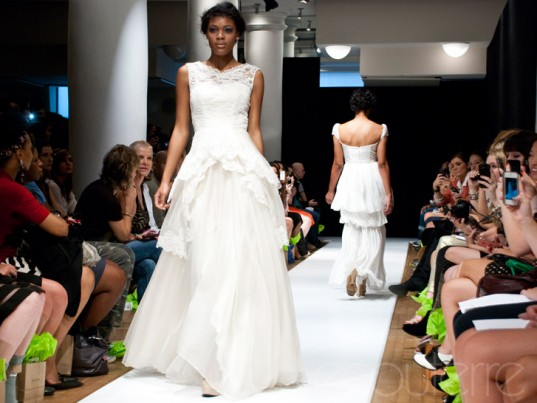 Leanne Marshall, Project Runway, Spring/Summer 2013, New York Fashion Week, New York Eco-Fashion Week, New York Green Fashion Week, eco-friendly wedding gowns, sustainable wedding gowns, eco-friendly wedding dresses, sustainable wedding dresses, eco-friendly bridesmaids gowns, sustainable bridesmaids gowns, eco-friendly bridesmaids dresses, sustainable bridesmaids dresses, eco-friendly weddings, sustainable weddings, green weddings, made in the U.S.A., New York City, New York