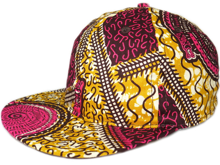 d5ec5487569f6 FairEnds Turns Deadstock Prints From Ghana Into Colorful Baseball Caps