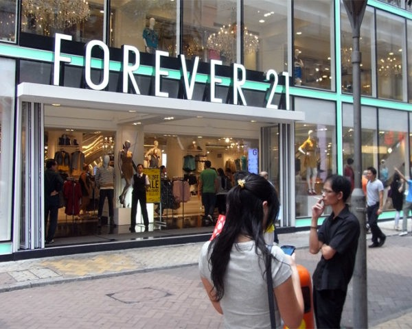 Forever 21 in Trouble With Dept. of Labor for Alleged Sweatshop Practices...