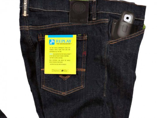 Replay Jeans, wearable technology, social networking, eco-friendly jeans, sustainable jeans, eco-friendly denim, sustainable denim, eco-fashion, sustainable fashion, green fashion, ethical fashion, sustainable style