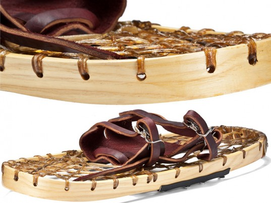 Iverson, eco-friendly snowshoes, sustainable snowshoes, eco-friendly shoes, sustainable
