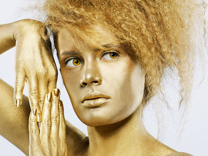 Golden Tresses Thanks To Nanotechnology You Can Now Dye Your Hair