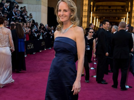 Helen Hunt, 2013 Oscars, 85th Academy Awards, Academy Awards, Oscars, H&M Conscious, H&M, eco-celebs, eco-friendly celebrities, green celebrities, eco-fashion, sustainable fashion, green fashion, ethical fashion, sustainable style