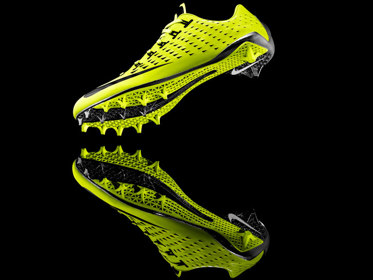 f7f9cd2971 Nike Debuts First Football Cleat Built Using 3D-Printing Technology