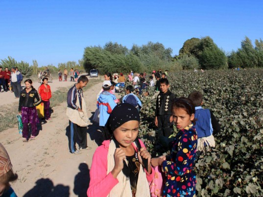 Baroness Lola Young, U.K., United Kingdom, eco-fashion, sustainable fashion, green fashion, ethical fashion, sustainable style, Uzbekistan, Uzbek cotton, child labor, forced labor, human rights, labor rights, workers rights