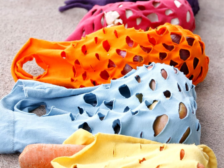 10 Ingenious Ways to Recycle an Old T-Shirt