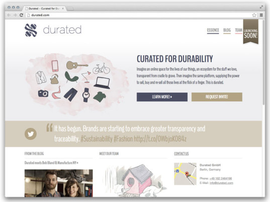 Durated, eco-fashion tools, eco-fashion websites, eco-fashion, sustainable fashion, green fashion, ethical fashion, sustainable style, Cradle to Cradle, transparency, smartphone apps, smartphones, supply chains, Kim Borgström, mobile apps, e-commerce