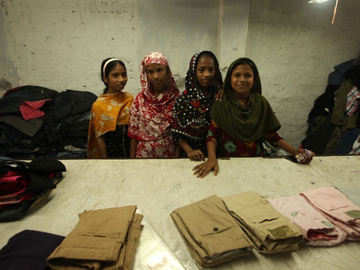 b94f734592d Children as Young as 12 Are Making Clothing for Old Navy in ...