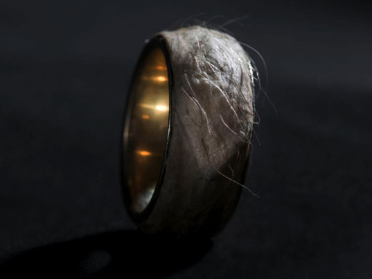 Sruli Recht, Iceland, human skin, eco-friendly rings, sustainable rings, bizarre eco-fashion, eco-fashion, sustainable fashion, green fashion, ethical fashion, sustainable style, green Halloween, Halloween