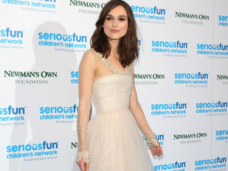 Recycling Wedding Dress 30 Best Actress Keira Knightley Recycles