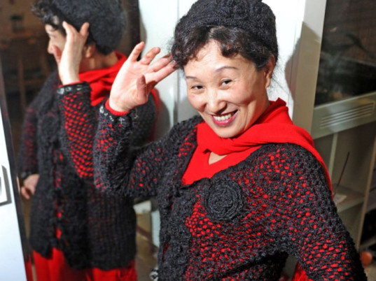 Xiang Renxian, China, knitting, bizarre eco-fashion, eco-fashion, sustainable fashion, green fashion, ethical fashion, sustainable style, human hair