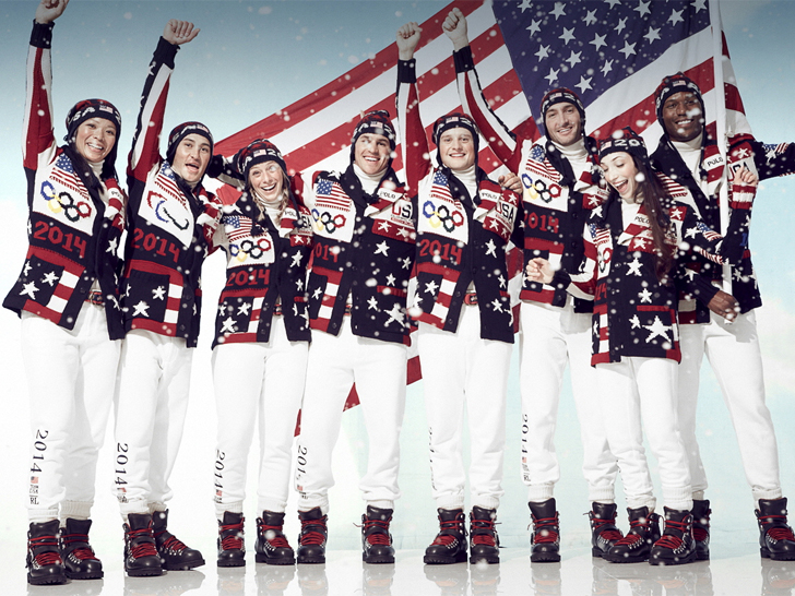 Ralph Lauren Unveils U.S.-Made Opening Ceremony Outfits for Sochi
