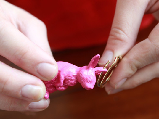 rabbits, DIY key chains, upcycled toys, recycled toys, eco-fashion, sustainable fashion, green fashion, ethical fashion, DIY fashion, DIY tutorials, do it yourself, DIY projects, Darby Smart