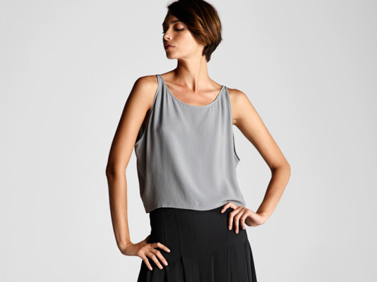Eileen Fisher, eco-fashion, sustainable fashion, green fashion, ethical fashion, sustainable style, Spring/Summer 2014
