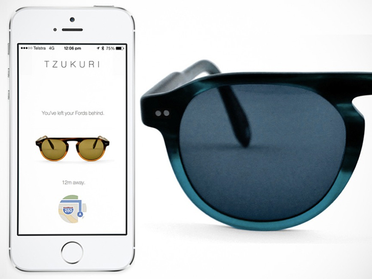 b6a4c37f351f Solar-Powered Sunglasses Alert You When You ve Left Them Behind